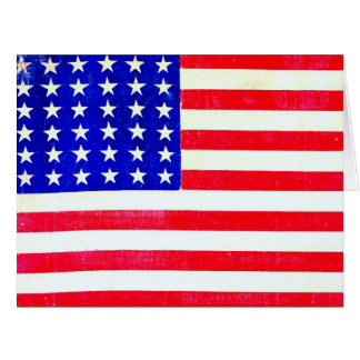 Bandeira americana 1865 de guerra civil cartão