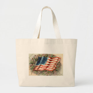 Bandeira americana 1910 de dia de decoração bolsa para compra