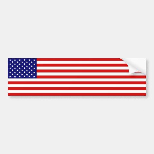 Bandeira americana adesivos