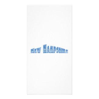Bandeira americana azul New Hampshire Cartões Com Fotos