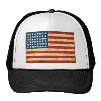 Bandeira americana boné