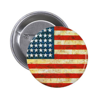Bandeira americana bóton redondo 5.08cm