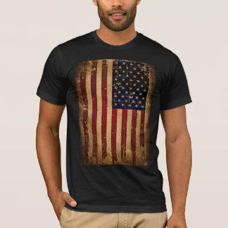 Bandeira americana camiseta