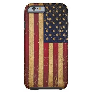 Bandeira americana capa tough para iPhone 6