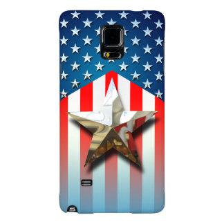Bandeira americana capas galaxy note 4