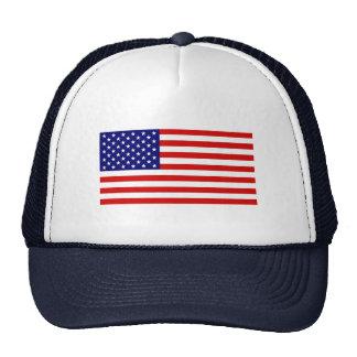Bandeira americana bonés