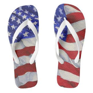 Chinelos Bandeira americana - chinelos
