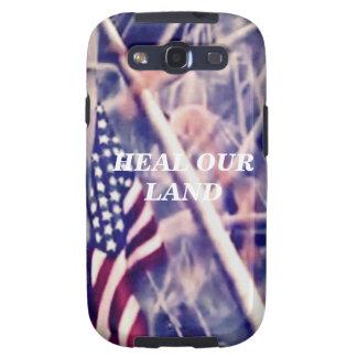 Bandeira americana com citações inspiradas