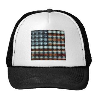 Bandeira americana criativa bone
