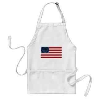 Bandeira americana da guerra civil de Sumter do Avental