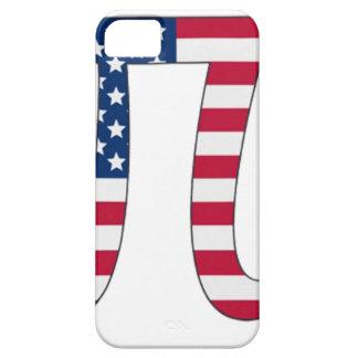 Bandeira americana do dia do Pi, símbolo do pi Capa Barely There Para iPhone 5