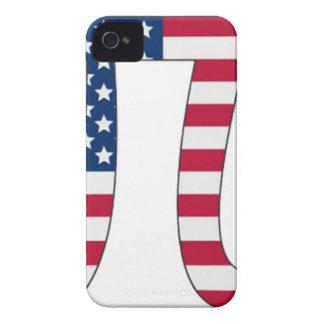Bandeira americana do dia do Pi, símbolo do pi Capas Para iPhone 4 Case-Mate