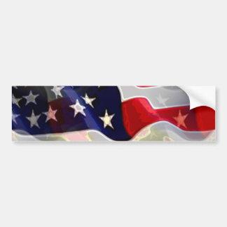 Bandeira americana dos E.U. Adesivo Para Carro