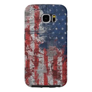 bandeira americana dos EUA Capas Samsung Galaxy S6