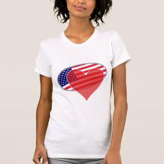 Bandeira americana dos EUA T-shirt