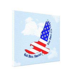 Bandeira americana Eagle 4o da decoração da arte