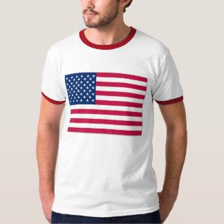 Bandeira americana EUA Camiseta