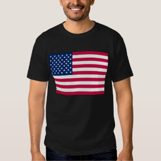 Bandeira americana EUA Camisetas