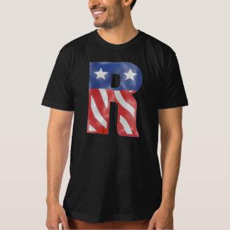 bandeira americana - EUA-em-r Tshirt