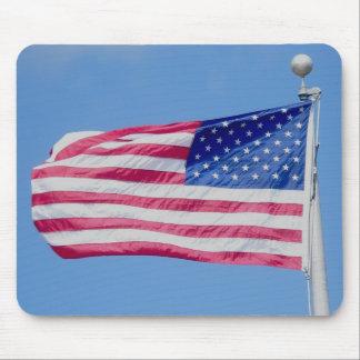 Bandeira americana Mousepad
