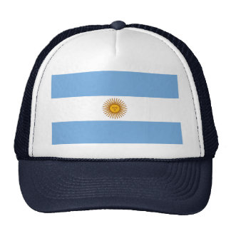 Bandeira argentina boné