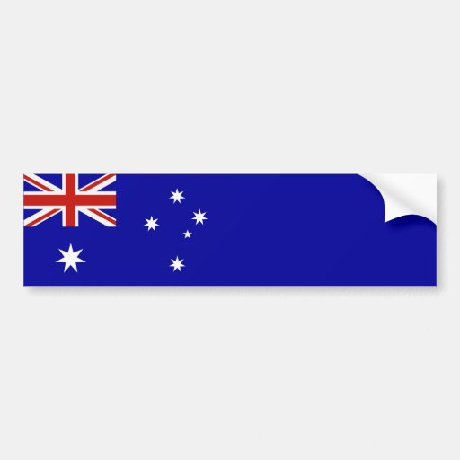 Bandeira australiana adesivos