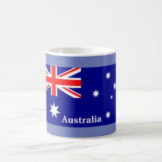 Bandeira australiana - caneca de café da lembrança