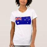 Bandeira australiana tshirt