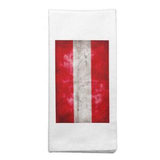 Bandeira austríaca guardanapo