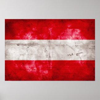 Bandeira austríaca poster