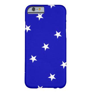 Bandeira azul Bonnie Capa Barely There Para iPhone 6
