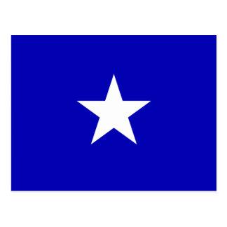 Bandeira azul Bonnie Cartão Postal