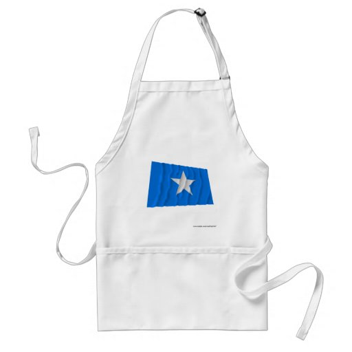 Bandeira azul Bonnie/para o oeste bandeira da repú Aventais