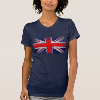 Bandeira azul e vermelha de Inglaterra Camiseta