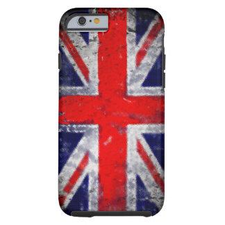 Bandeira azul e vermelha de Inglaterra Capa Tough Para iPhone 6