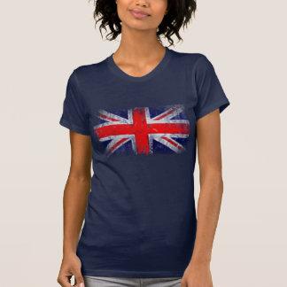 Bandeira azul e vermelha de Inglaterra Tshirts