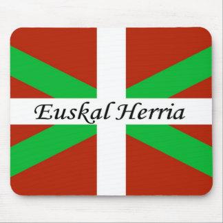 Bandeira Basque com o tapete do rato de Euskal Mouse Pad