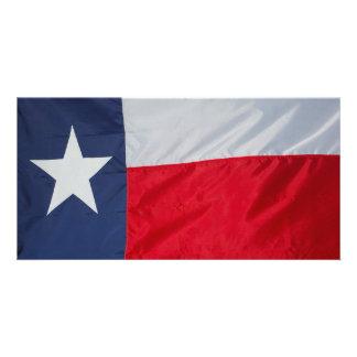 Bandeira brandnew de Texas Cartão Com Foto