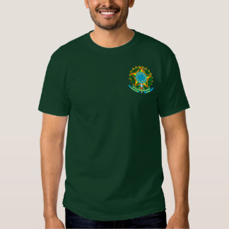 Bandeira brasileira camiseta