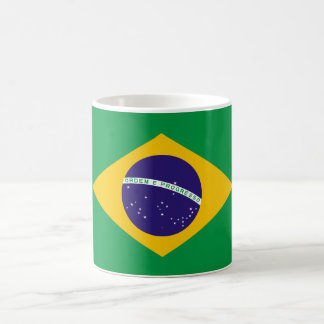 Bandeira brasileira canecas