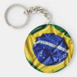 Bandeira brasileira chaveiro