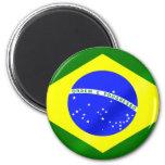 Bandeira brasileira de presentes e de camisetas de imãs