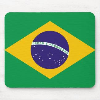 Bandeira brasileira mouse pad