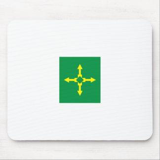 Bandeira Brasilia Brasil Mousepads