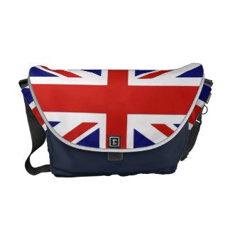 Bandeira britânica bolsas mensageiro