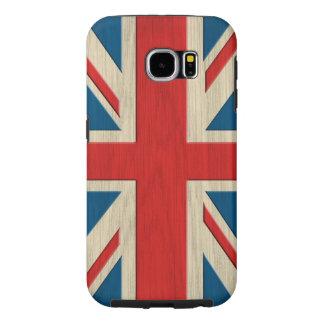 Bandeira britânica capas samsung galaxy s6