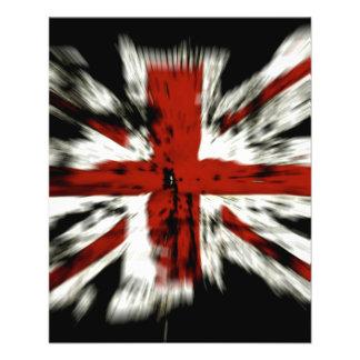 Bandeira BRITÂNICA de Inglaterra Modelos De Panfleto