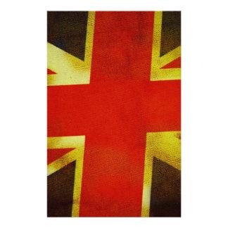 Bandeira BRITÂNICA de Inglaterra Panfleto Personalizado