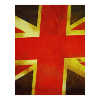 Bandeira BRITÂNICA de Inglaterra Panfleto Coloridos