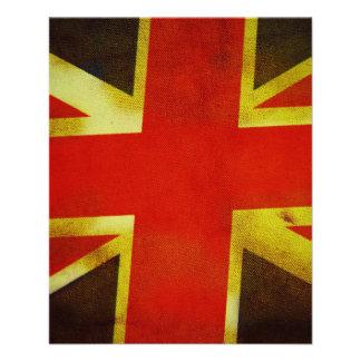 Bandeira BRITÂNICA de Inglaterra Panfletos Personalizado